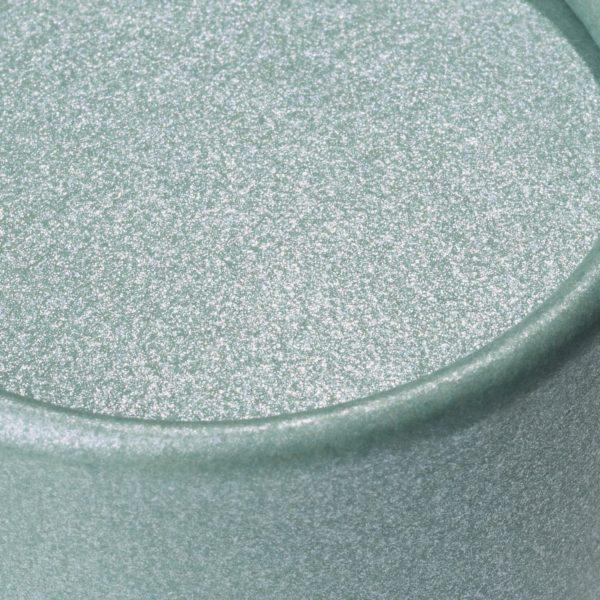 Deckel der nachhaltigen, betubed Pappdose Salbei in der Detailansicht