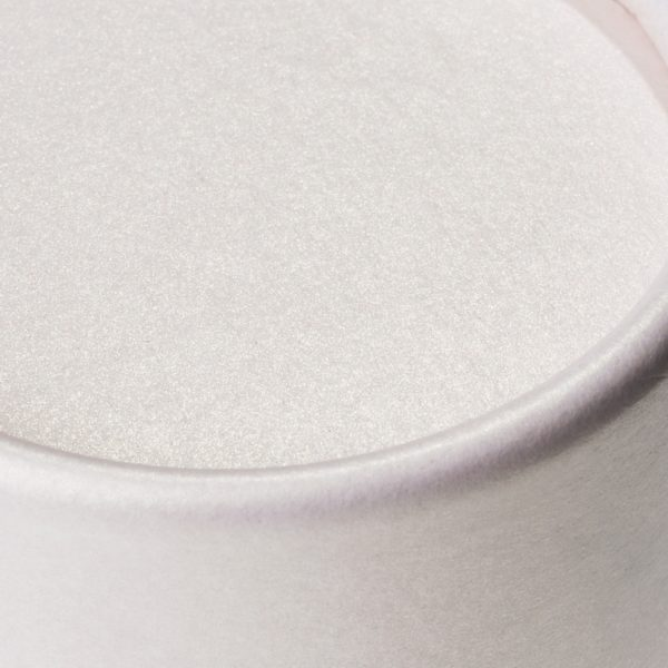 Deckel der nachhaltigen, betubed Pappdose zartrosein der Detailansicht