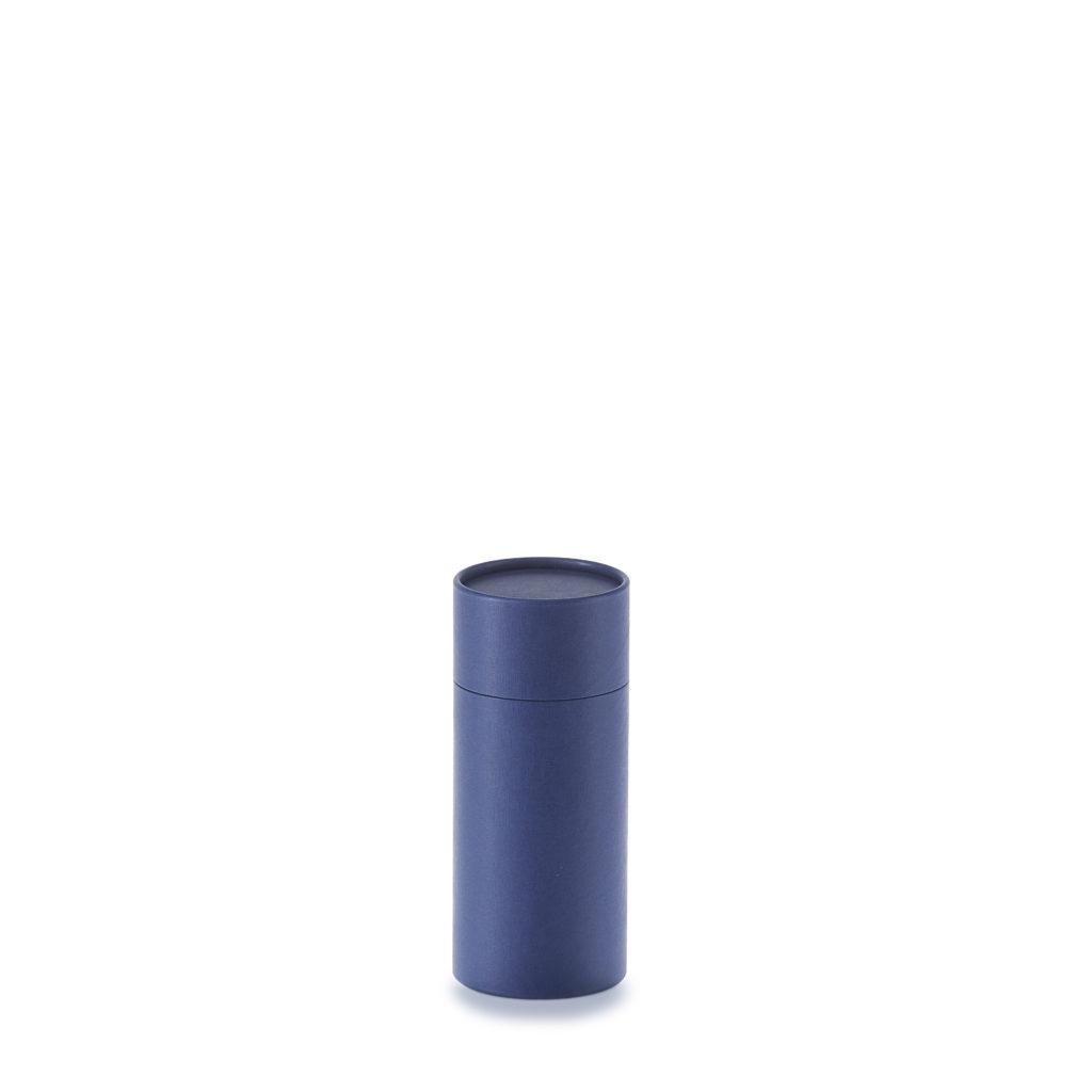 pappdose blau paper tube blue 150x60 betubed